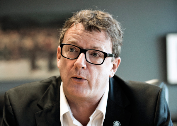 Jacques Létourneau, président directeur-général de la CSN.