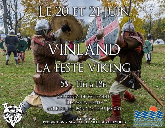 La Feste Viking qui aura lieu cette fin de semaine, organisée par Nicolas Bergeron et son entreprise Production Vinland.