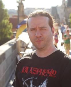 Martin Marcotte, propriétaire de Sepulchral Productions.